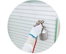 吹き付け塗装方法